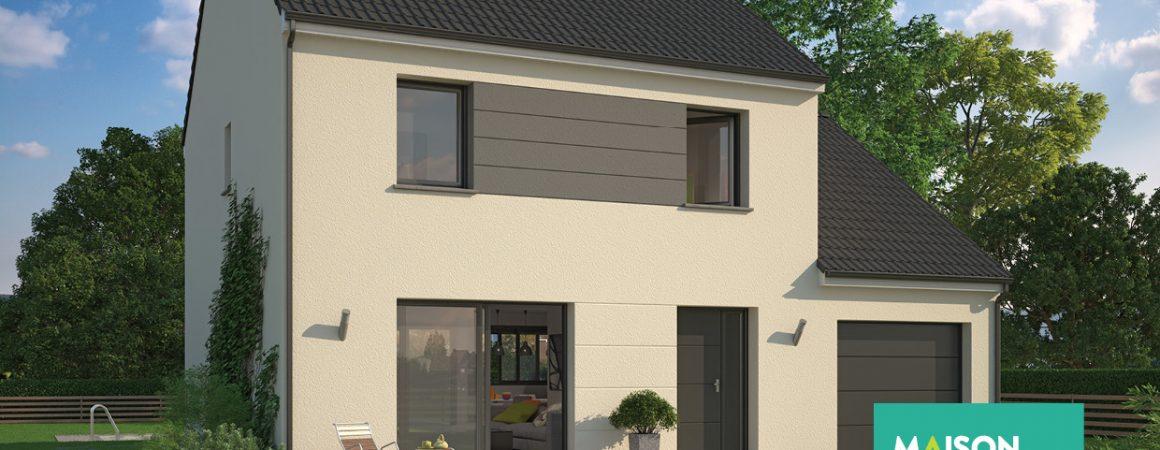 Maison familiale constructeur domexpo for Modele maison geoxia