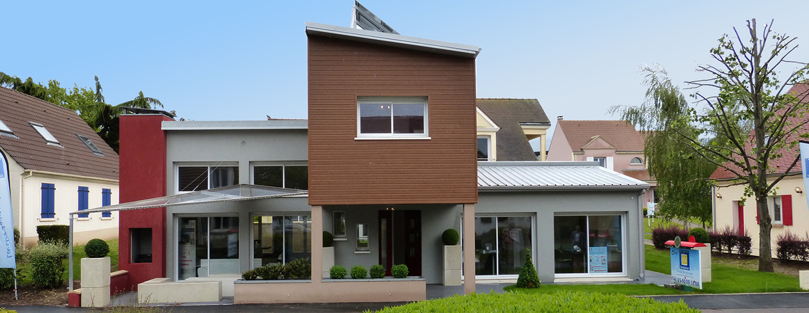 Maisons s same constructeur domexpo for Village domexpo 91