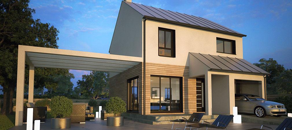 maisons d 39 en france constructeur domexpo. Black Bedroom Furniture Sets. Home Design Ideas